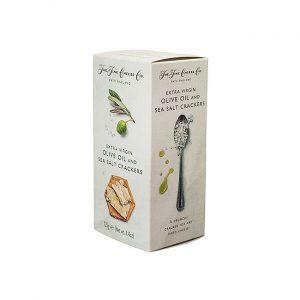 Spröda tunna ostkex med oliveolja