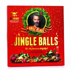 Adventskalender Chili Klaus Jingle Balls