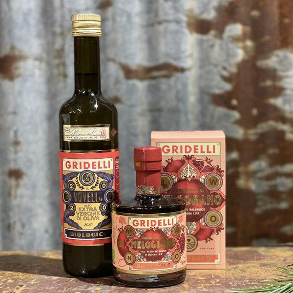 Gridelli olja och granatbalsamico
