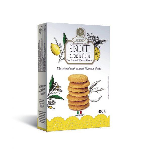 Italienska biscottis med citron