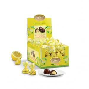 Chokladpraliner med Limoncellokräm